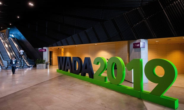 Wada pushes for Russia to be banned from Tokyo Olympics.
