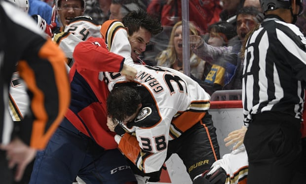 Why punching your opponent in hockey is fine but spitting on him is not.