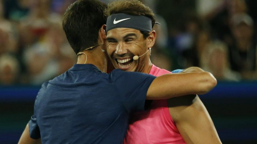 Nadal, Federer make joint $250,000 donation during Rally4Relief.