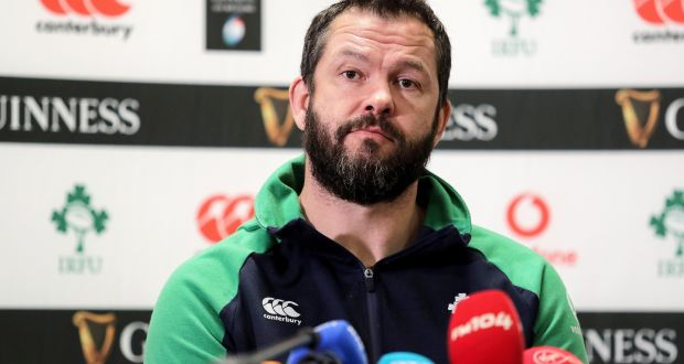 Irish players deflated as France game postponed.