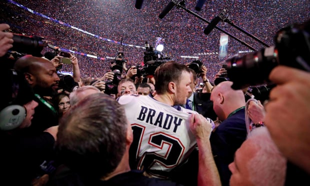 Tom Brady to leave New England Patriots after 20 years and six NFL titles.
