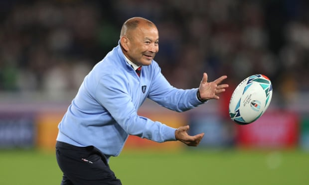 Eddie Jones agrees new England contract until 2023 World Cup.