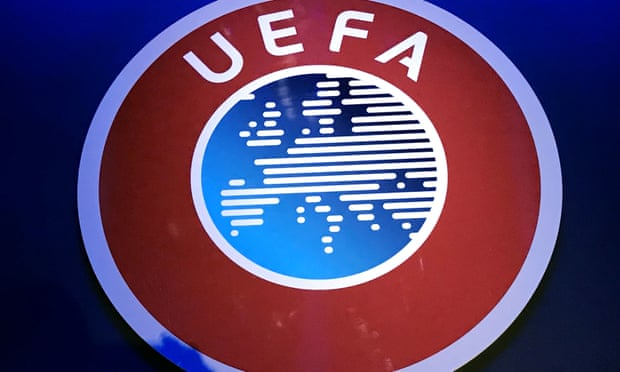 Uefa tells European leagues to determine placings 'on sporting merit'.
