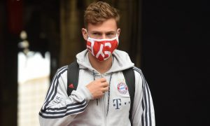 Joshua Kimmich We have to wear masks, sit alone and shower at home