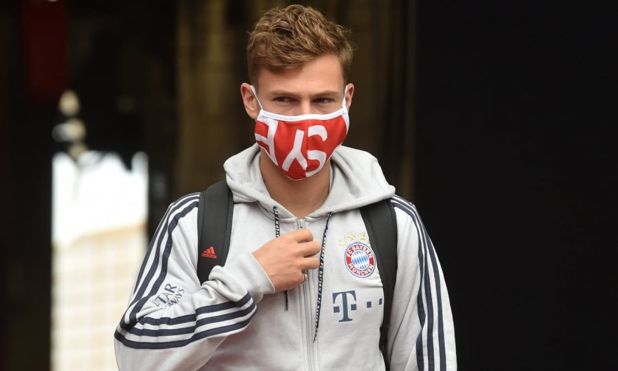 Joshua Kimmich: «We have to wear masks, sit alone and shower at home».