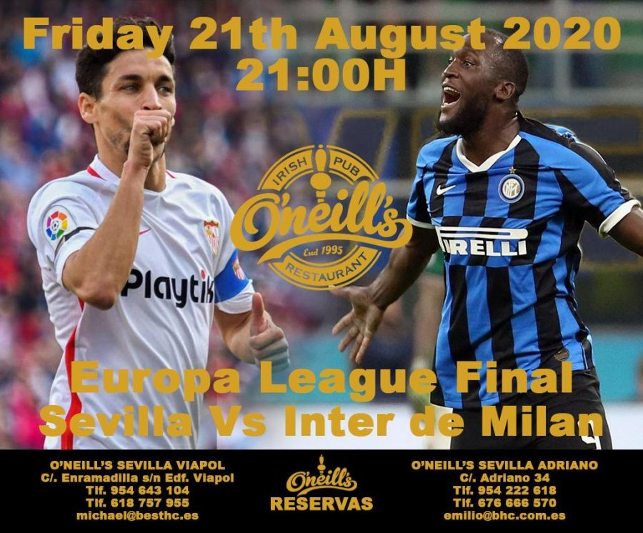 FINAL DE LA EUROPA LEAGUE: SEVILLA VS. INTER.