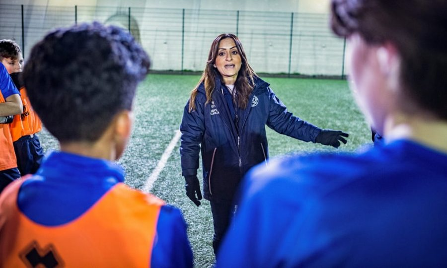 Manisha Tailor: 'I am here to work in football and offer change'.